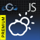 JavaScript Premium Weather Widget - Weather Conditions and Forecast Script