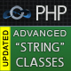 PHP Advanced String Classes - Extended PHP strings processing library